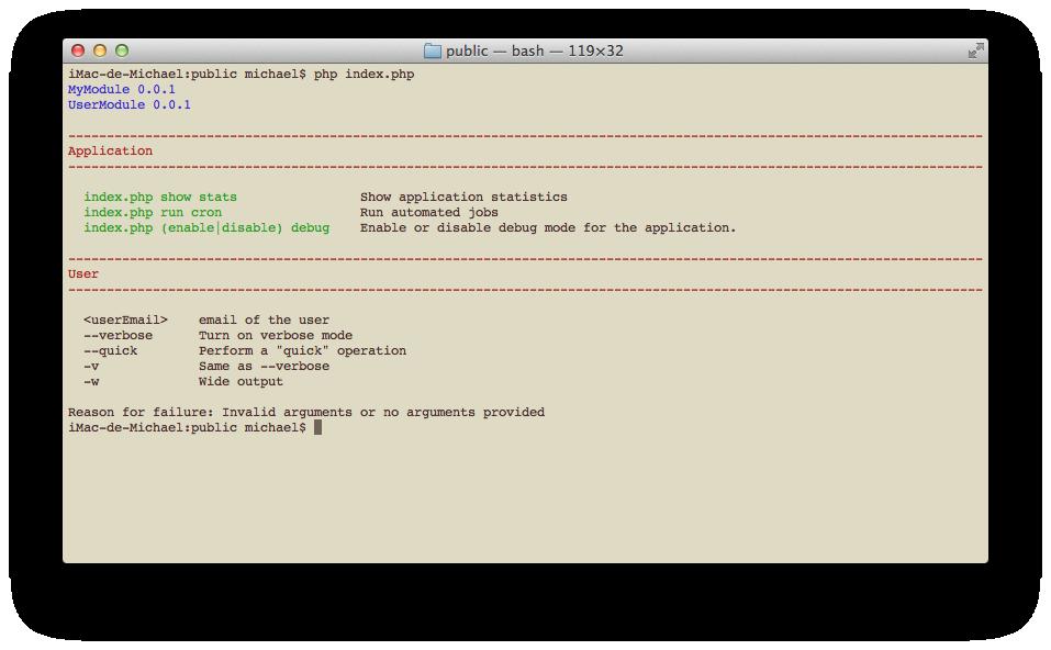 Manual Documentation Zend Framework