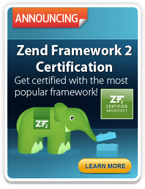 New! Zend Framework 2 Certification